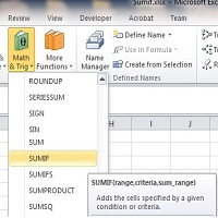How to use SUMIF Function | Excel
